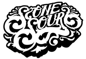 Stone Sour Ornate Lettering by gomedia