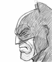 Batman sketch by eliaim