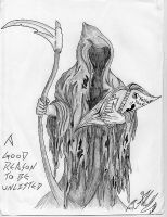 How The Reaper Finds You... by Somnium-Draco