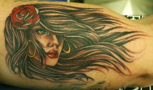 Sexy Girl tattoo by Phedre1985