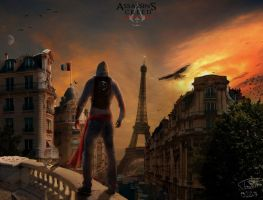 Assassin's Creed - Modern Paris by PouicA