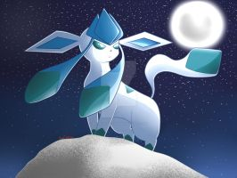 Glaceon by NeonCelestia20