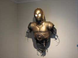 C-3PO Talking Life Size Bust (pic 2 of 2) by avonfox