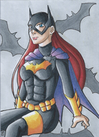 Batgirl ACEO Card by shinjaejun