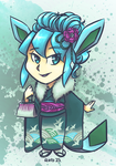 Coming of Age Day: Glaceon ver. by avroillusion