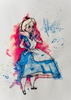 Alice in wonderland by LunaDiCarlo