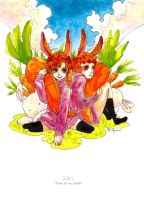 CNY2011: Rabbits by moaniez