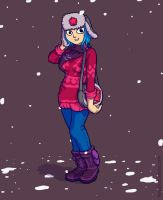 Ramona's winter outfit by He-st