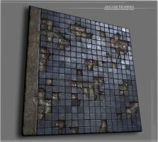 Weathered Building - Decaying Tiles by Jacob-3D