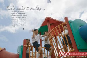Ad for WAO by supermarkie