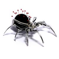 Steampunk Spider Pin Cushion by CatherinetteRings