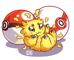 PokeddeXY - Joltik by oddsocket