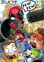 Deadpool ATC Back by DKuang