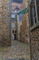 street6 in the old Le Mans Sarthe France by hubert61