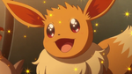 Eevee's Dazzled at Serena's Performance by WillDynamo55