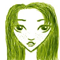 Green - Vert by Number-14