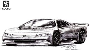 Peugeot Oxia Exotic Supercar Prototype by toyonda