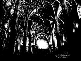 Through a Cathedral Darkly by MrWootton