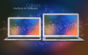 MacBook Air Colors Wallpaper by Martz90