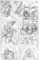 FUNHOUSE of HORRORS Issue 4 Page 2 Pencil by RudyVasquez