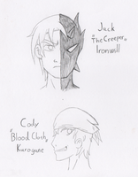 Old Fan Characters - Jack and Cody by RaijinSenshi