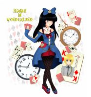 Hanan in wonderland by MissHaruChan