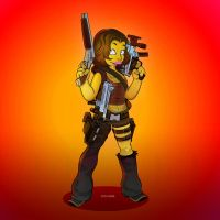 Alice In Resident Evil Apocalypse by SimpsonsCameos