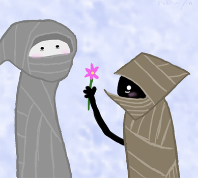 WV: Give Flower by elodelia