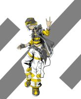 Hero: Nameless TWEWY character by AnonXeidrii