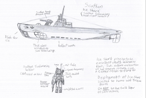 Scathen Submarine by IrateResearchers