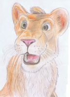 Ryan the lion by ConkerTSquirrel