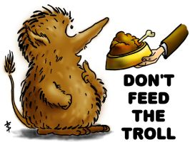 Don't feed the Troll by Salagir
