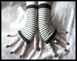 Unearthed Fingerless Gloves by ZenAndCoffee