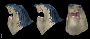 3D Shark by a3bashir