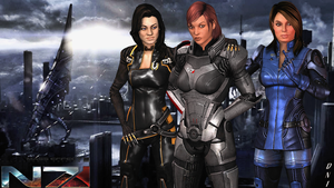 ME3: Lucia Shep. #1 Commander N7 R.I.P. by Krypto4CatSuits