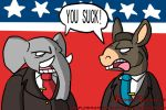 Political debates in the USA by BrokenTeapot