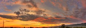 Sunset Panorama by himphotography
