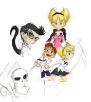 billyandmandy sketches by pretty-and-dangerous