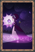 Galaxia, the Clairvoyant by jgss0109