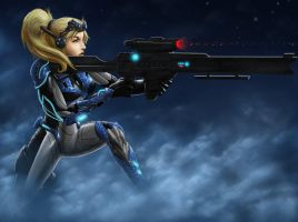 Starcraft Ghost: Nova Color by Jaripeich