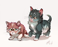 Kitty by xepxyu