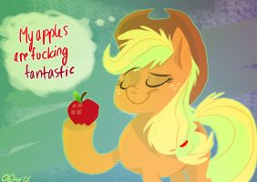 Jacky's Apples by Graystripe64
