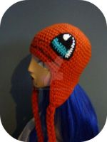 Crochet Charmander Beanie by AAMurray