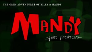 MANDY FROM THE GRIM ADVANTUERS thumbnail/titlecard by IDROIDMONKEY