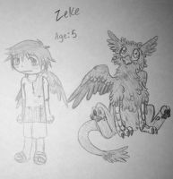 Zeke: Age 5 by Princess-Hanners