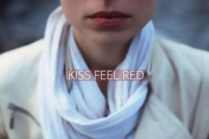 kiss feel red by Zim2687