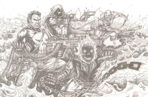 Ring of Fire (pencils) by RevolverComics