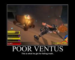 Motivational- Poor Ventus by Kisagami-sama