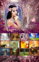 Fantasy Art Calendar by 3ddream
