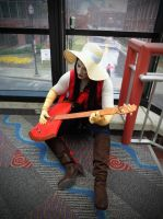 Marceline Jamming Out! by TheDreamerWithin616